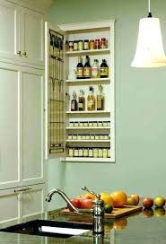 recessed wall storage