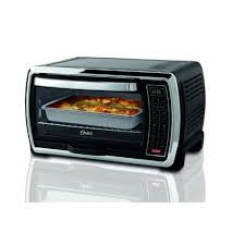 kenmore toaster oven. oster large capacity countertop 6-slice digital convection toaster oven, black/polished stainless kenmore oven