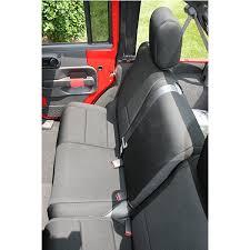neoprene rear seat cover black jk 2