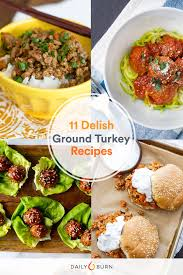 11 ground turkey recipes for your clean