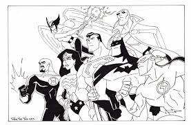 Small Picture Jpeg Justice League Coloring Pages Free Bebo Pandco