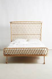 Curved Rattan Bed | Anthropologie
