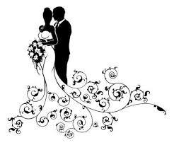 Weitere ideen zu scherenschnitt, schablonen, schere. Hochzeitspaar Silhouette Vektorgrafiken Cliparts Und Illustrationen Kaufen 123rf