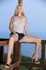 Shaved Pretty Delicious Beautiful Gorgeous Blonde Babe Genevieve.