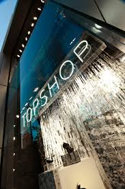 white led lighting by abstract avr in the front windows of top knightsbridge led
