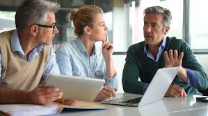 Business Tablet Business People In A Meeting Stock Footage Video 100 Royalty Free 16868950 Shutterstock
