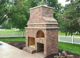 the outdoor fireplace and pizza oven combination plans combo kit com