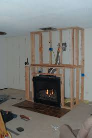 amazing diy fireplace and built ins