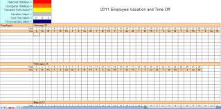 Employee Monthly Work Schedule Template