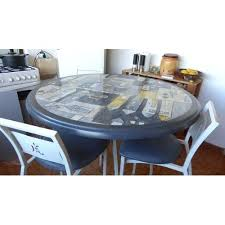 Table De Cuisine Avec Tabouret Table Haute De Cuisine Avec 3