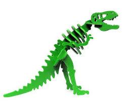 Miniature 3d Dinosaur Puzzle Larry The Tyrannosaurus Rex
