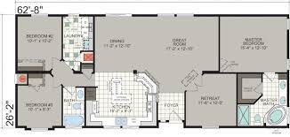 manufactured homes floor plans. Manufactured Homes Santa Barbara County Craftsman WC26 Silvercrest WC-26 Floor Plan Plans R