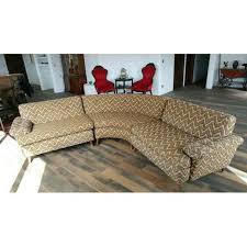 mid century kroehler sectional sofa