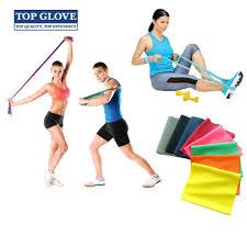 top glove duraband 1 5m latex powder free exercise band 1 piece various