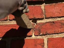 restoring the brick mortar joints