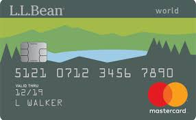 l l bean issued a new credit card that racks up bean buck points that
