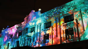 The Light Institute Projection At Light Institute Building Facade Superuber