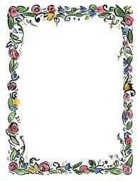 Decorative Borders For Word Spring Borders For Word Clipartfest Free Spring Borders For