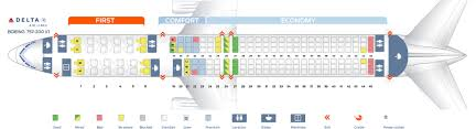 Boeing 757 Seating Chart Us Airways Seat Map Boeing 757 200 Delta Airlines Best Seats In Plane