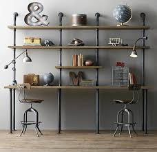 industrial style furniture. Exellent Style Good Industrial Style Furniture Desk Shelf With  And Industrial Style Furniture L