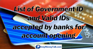 What Ids Are Accepted When Opening A Bank Account Pinoymoneytalk Com