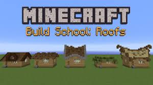 Cool Minecraft Roof Designs Minecraft Build School Roofs