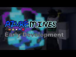 Roblox Azure Mines Azure Ore Update
