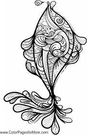 Small Picture Fish zentangle colouring page Zentangles Adult Colouring
