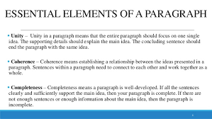 paragraph essay 2 3