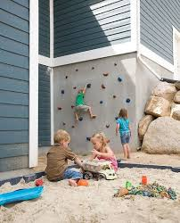 diy outdoor projects. Delighful Projects DIY Outdoor Climbing Wall For Kids For Diy Projects