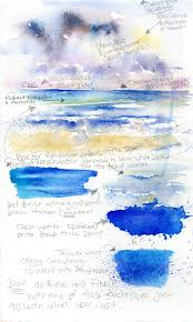 how to paint sea watercolour work by sheila gill