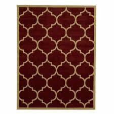 ottomanson paterson moroccan trellis area rug