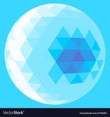 Light Blue Triangle Light Blue Triangle Sphere