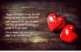 Birthday Love Quotes Adorable Happy Birthday Love Wallpaper With Quote