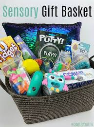 sensory gift basket for the sensory seekers in your life giftbasket sensory giftideas