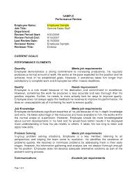 Free Employee Evaluation Form Template Along With Sample Performance ...
