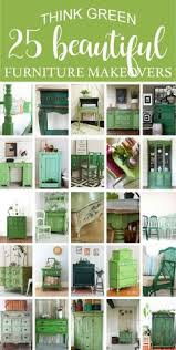 painted green furniture. 25 Beautiful Think Green Furniture Makeovers Roundup Painted