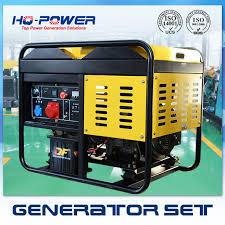 Air Cooled Diesel Generator Home Use open type Diesel Generator 10KW