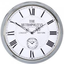 metropolitan wall clock 50cm