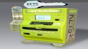 Key Cutting Vending Machine Magnificent MinuteKey The KeyCutting Vending Machine WIRED