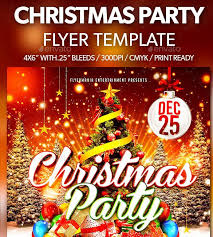 Christmas Flyer Templates Beautiful Holiday Party Flyer Template Audiopinions