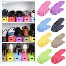 2017 Fashion Shoe Racks Modern Double Cleaning Storage Shoes Rack Living  Room Convenient Shoebox Shoes Organizer