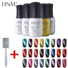 hnm hot 3 cat s eye nail polish top coat base coat gel varnish set diy gel nail kit polish set manicure nails set gel nails set from sophine02