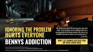 Big Bennys Vending Machine Classy Citizen Spotlight [PSA 48] Bennys Addiction Ignoring The Problem