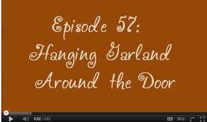 how to hang garland around front doorHanging Garland Around the Door  Trendy Tree Blog Holiday Decor