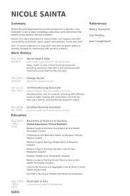 resume for hha