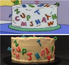 My Husband Wanted The Cake Marge Makes For Homer To Ruin In The