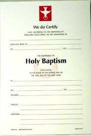 Sample Baptism Certificate Template Classy Baptism Certificates Templates Baptismal Certificate R Baptism