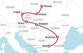 Go East Route Rail Europe Rail Travel Planner Europe