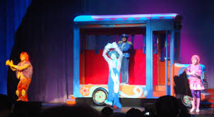 the doodlebops and bus driver bob at a doodlebops live concert in anaheim california on february 29 2008